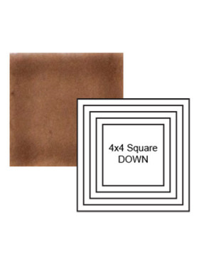 Square down Steppe in Chocolate Milk