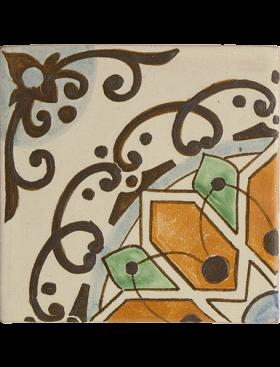 Estrella Naranja 4-Piece Pattern, large