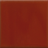 California Revival Small Square Field Tile in Barn Red