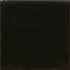 California Revival Large Square Field Tile in Black