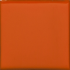 California Revival Small Square Field Tile in Orange