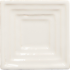 Square (small) down Steppe in Crystal White