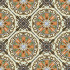 Estrella Naranja 4-Piece Pattern, medium