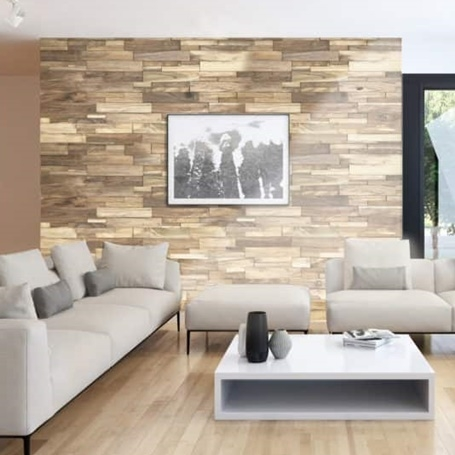 Reclaimed Teak Wood Tiles from Realstone Systems