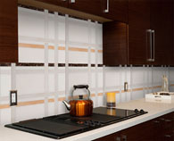 Erin Adams marble Mosaic Collection New York New York, Murray Hill backsplash