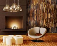 Realstone Systems Recalimed Wood Multi-tone livingroom